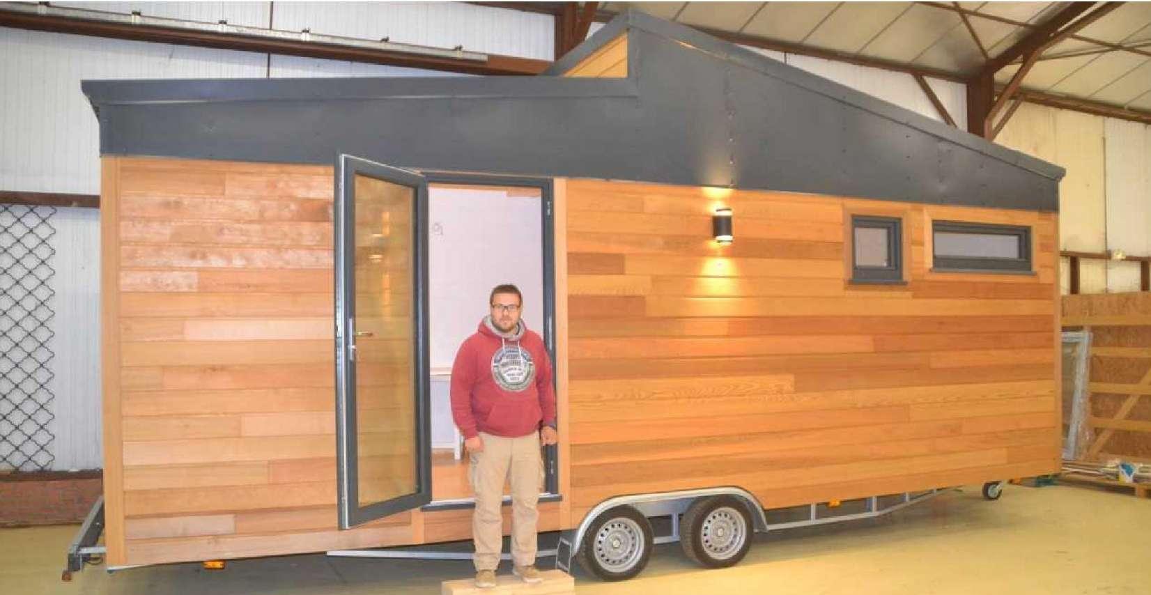 Read more about the article «Tiny House», cette maison en bois qui roule.